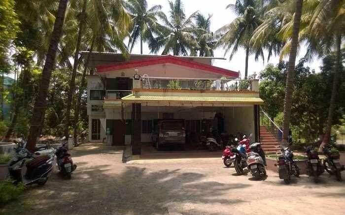 Entrance of Patil Cottage