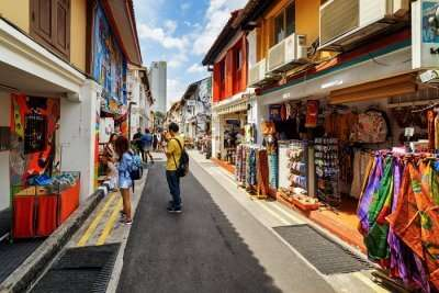 Haji Lane Shopping