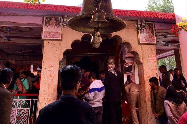 Hanuman Temple in Sariska