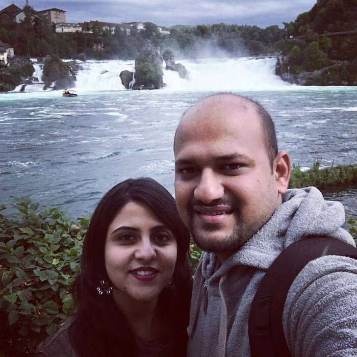 waterfall of zurich