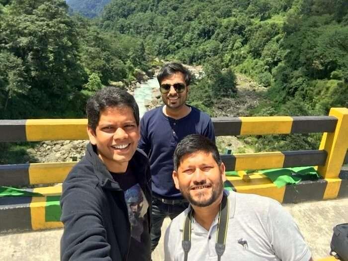 making friends in Sikkim