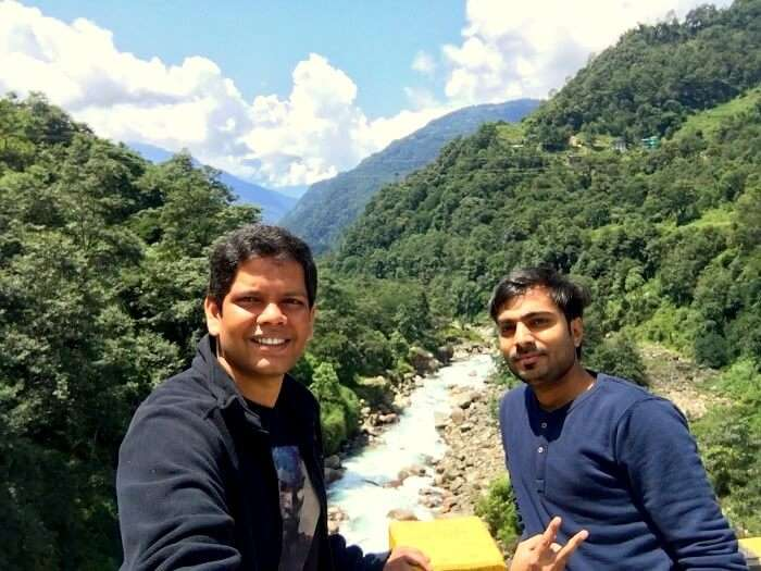 valley in sikkim