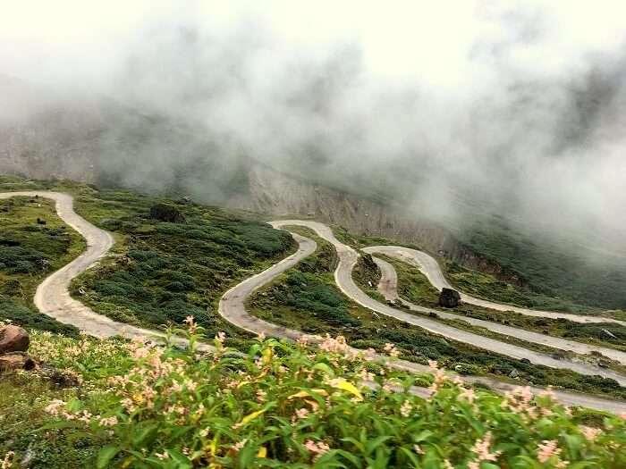 highway in sikkim
