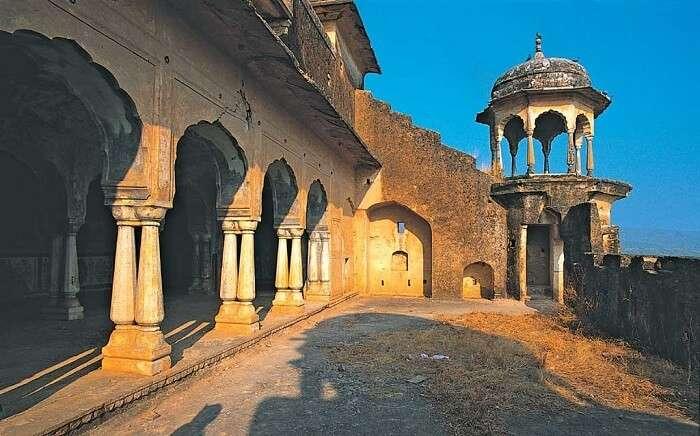 Kankwari Fort in Sariska
