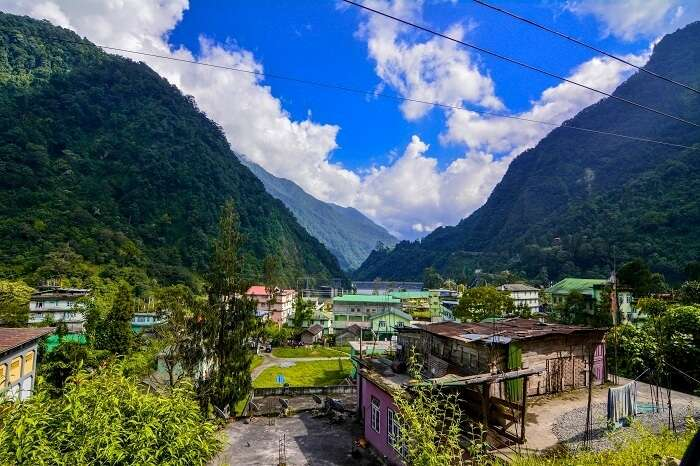 towns in sikkim