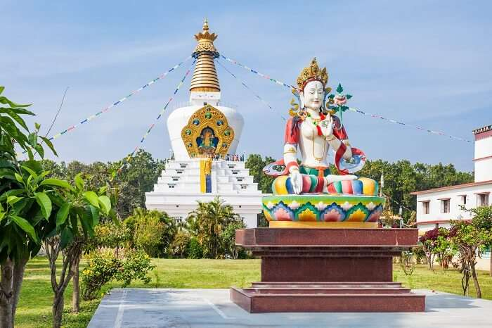 seek blessings at Mindrolling Monastery