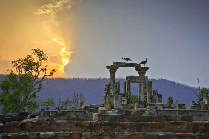 Neelkanth Temple in Sariska
