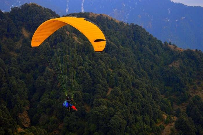 go Paragliding in dehradun