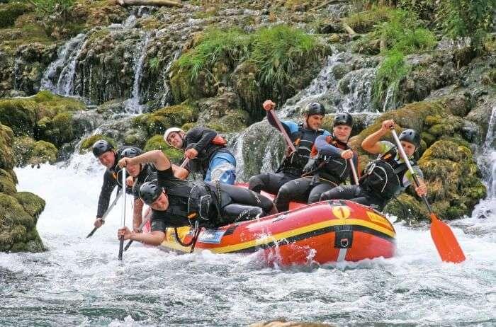 Rafting At Tuolumne River