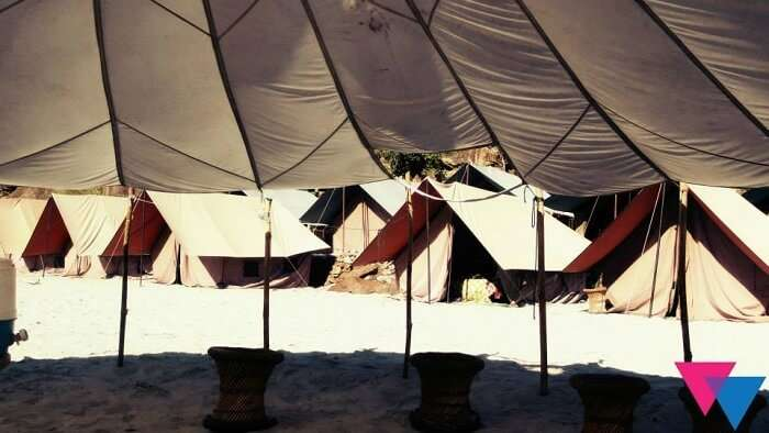 Beach camps