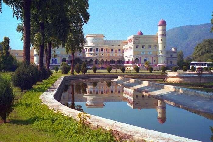 Sariska Palace in Sariska
