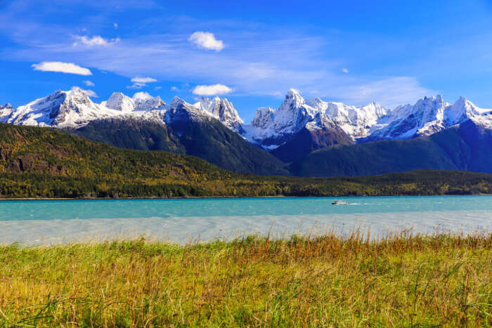 the amazing scenic views of Skagway, a delightful part of Alaska cruise tours