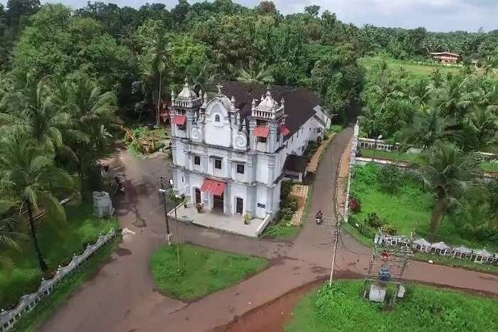 visit St. Clara's Church in goa