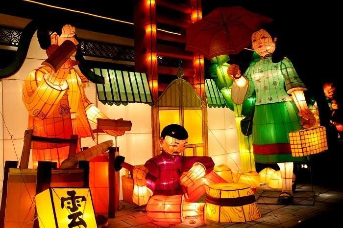 lanterns in china