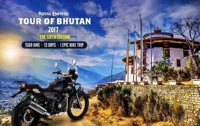 Royal Enfield India Tour Of Bhutan 2017