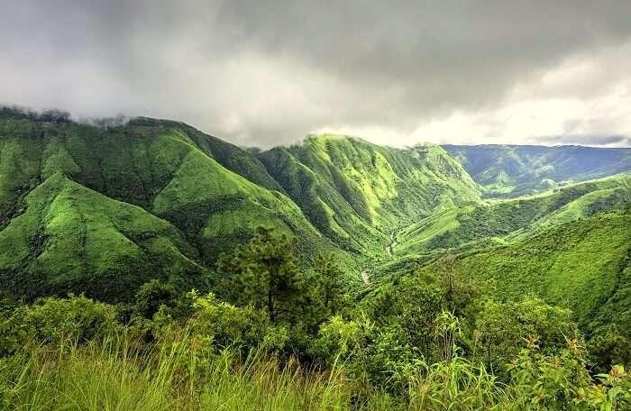 mountains near shillong
