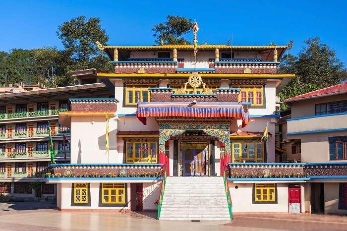 monastery in gangtok