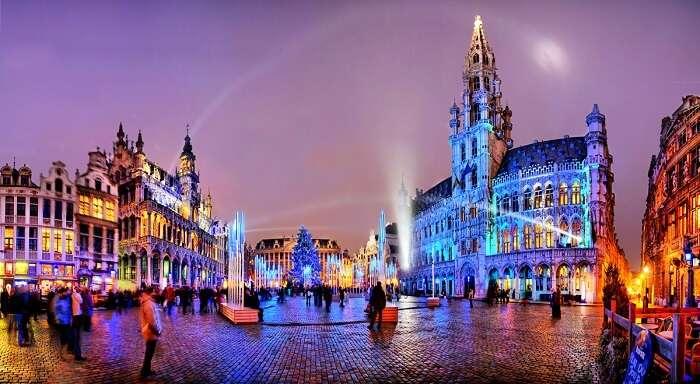 Christmas at Brussels, Belgium