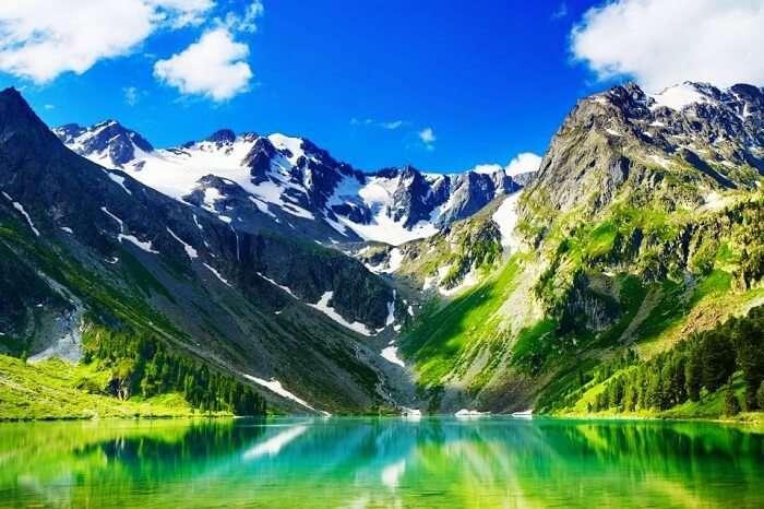 Altai Mountain in Russia