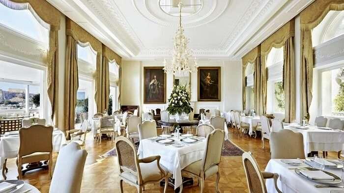 Tudor Hall, Greece