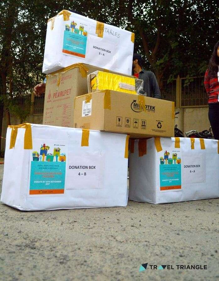 donation boxes for bucket list