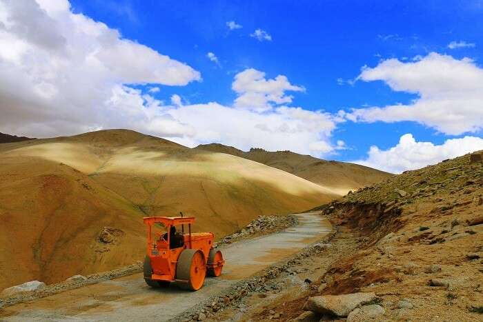 BRO built new Highest Motorable Road In The World