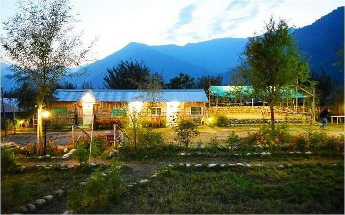 Beautiful camps of Camp Exotica in Manali