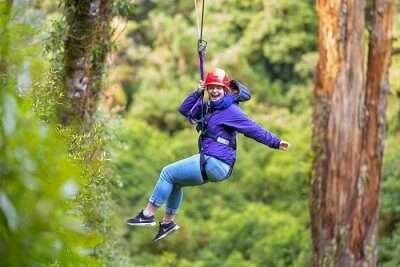 Go paddle-boarding & ziplining in Fun Forest