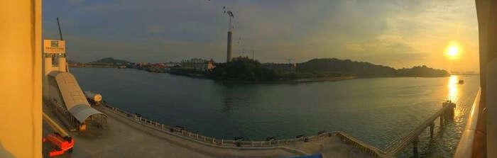 saurabhi singapore family trip: views from the cruise