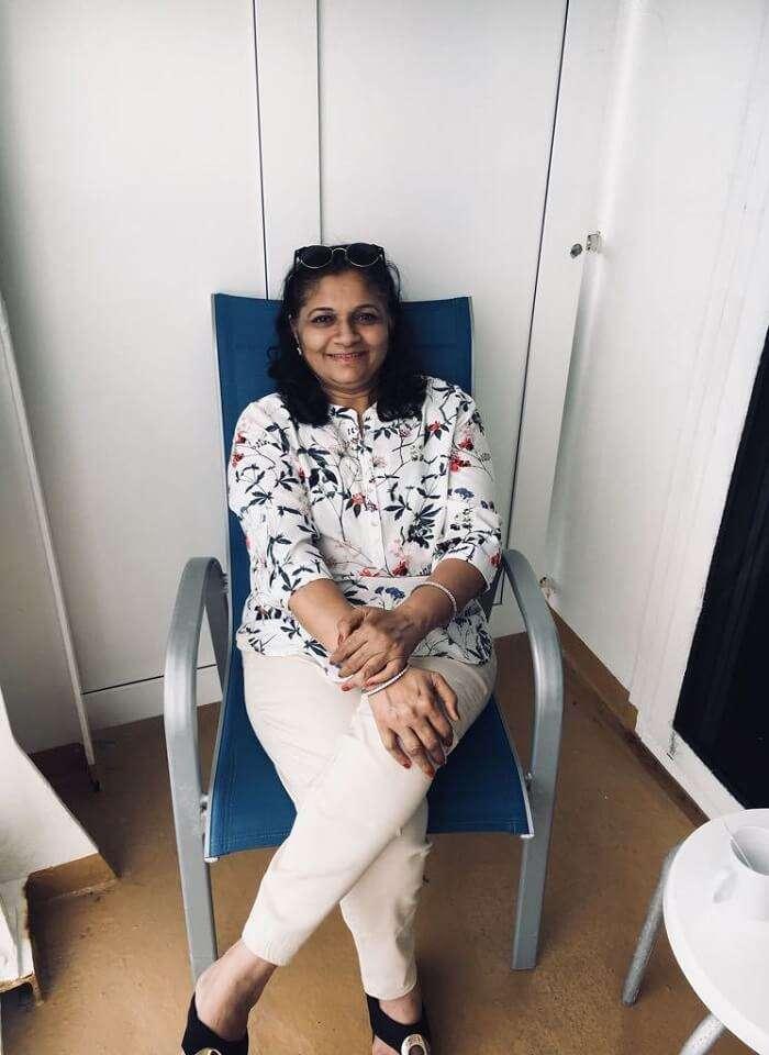saurabhi singapore family trip: saurabhi's mother