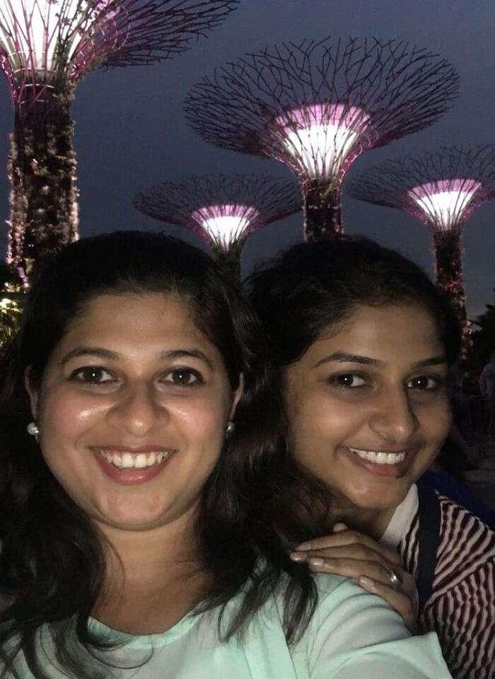 saurabhi singapore family trip: enjoying at gardens of the bay