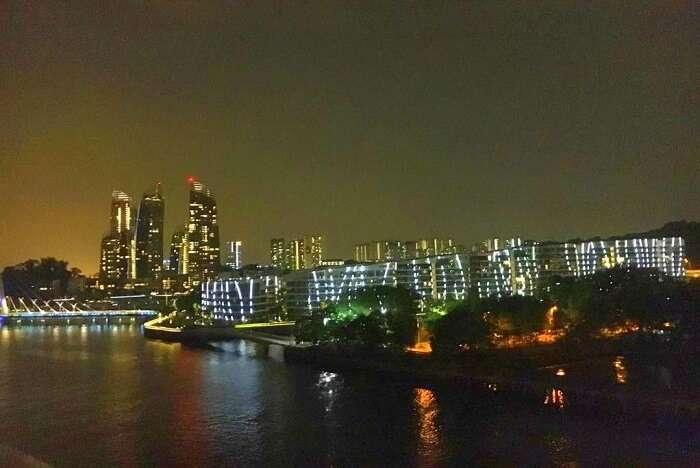 saurabhi singapore family trip: saurabhi sister enjoying at cruise
