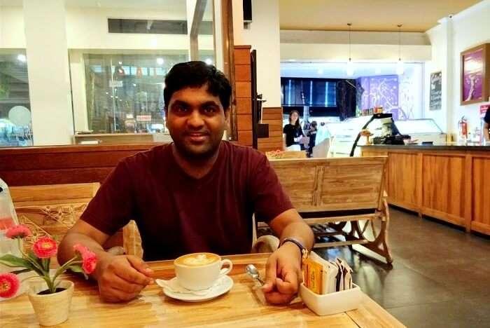 dinner in kuta