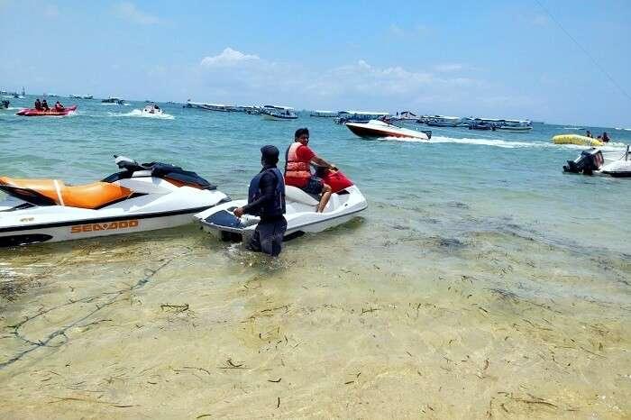 water sports in Bali