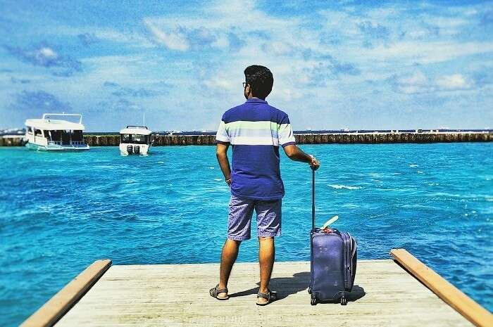 arriving in maldives