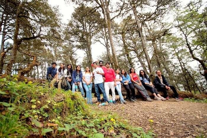 group trip to tirthan