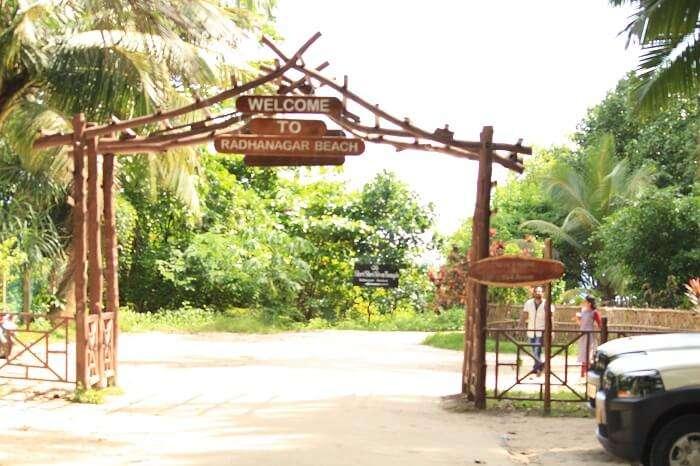 radhanagar beach in havelock