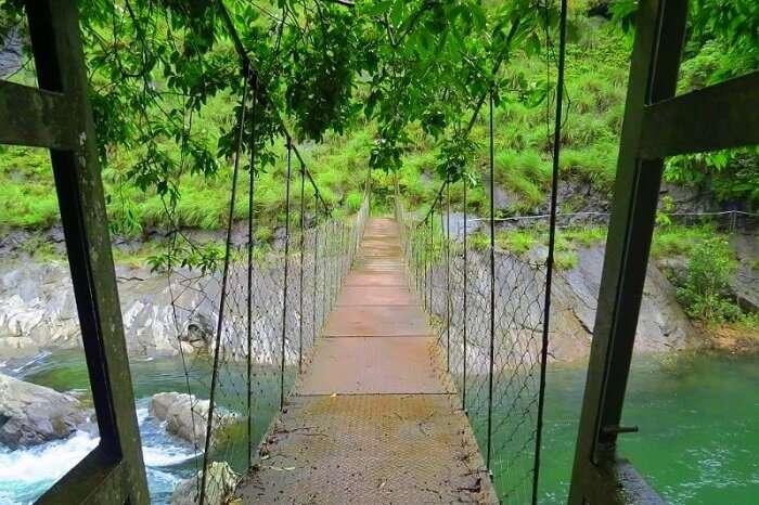 Silent Valley National Park kunthi river bridge