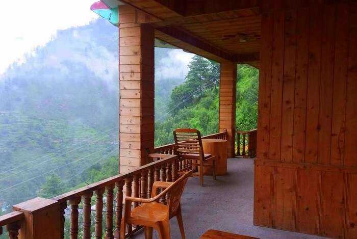 stay at The Tirthan View Homestay