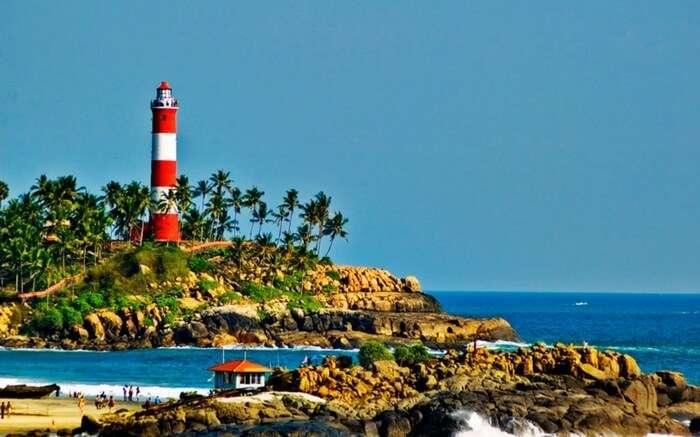 Beaches of Kovalam - best honeymoon hideaway in Kerala