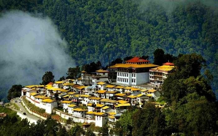 Tawang Monastery for a magical autumn honeymoon