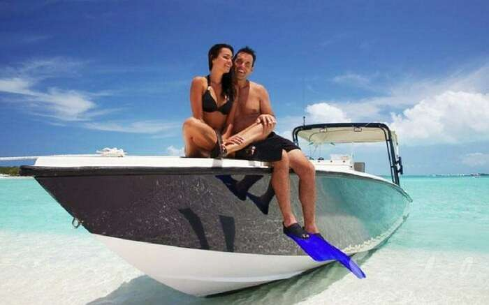 Lakshadweep is all about love and romance
