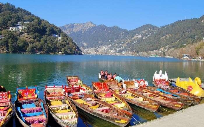 Nainital Lake Nainital, town is packed with honeymooners and families