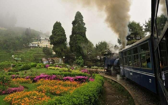 A breathtaking view of Darjeeling on a Toy Train ride