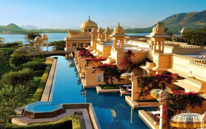 The Oberoi Udaivilas Udaipur - a wonderful place for honeymooners