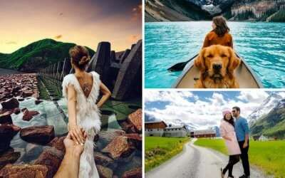 Popular travel bloggers on Instagram