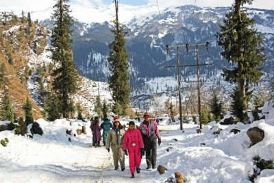Adventurous Trekking In Manali