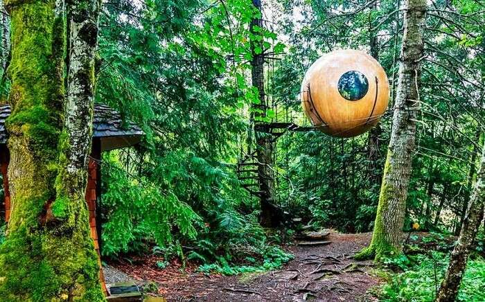 Free Spirit Sphere, Canada