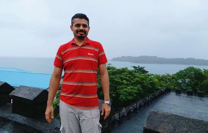 Traveler in Andaman