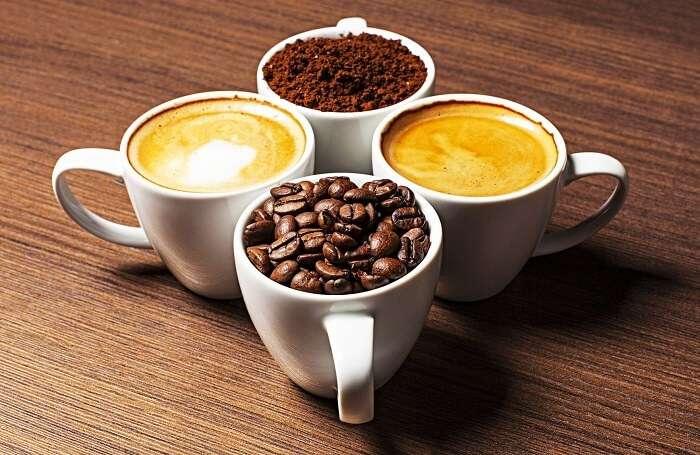 Coffee beans in Mysore